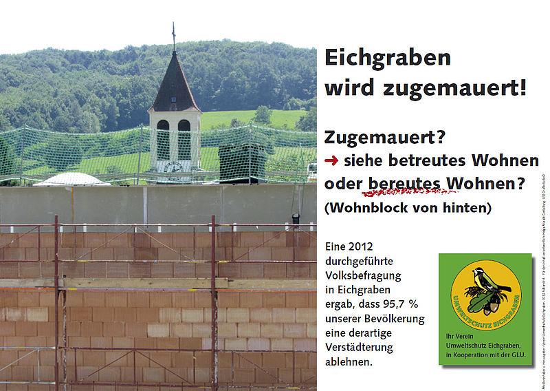 """Ansicht Baustelle """"Betreutes""""-Wohnen"""
